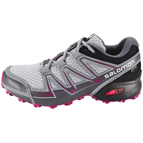Salomon Speedcross Vario GTX Trailrunning Shoes Women light onix/black/deep dalhia